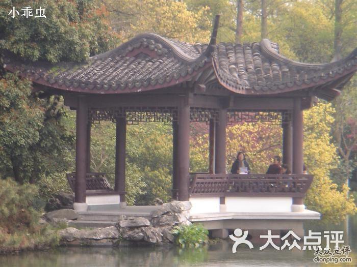 荷花亭曲谱-曲院风荷 亭子图片 杭州景点