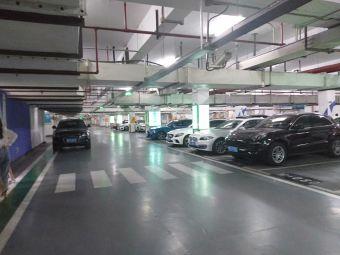 银泰城地下停车库