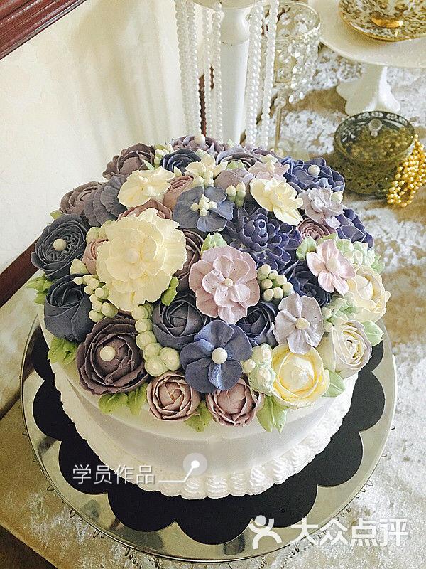 ada甜品季翻糖甜品台定制韩式裱花图片 - 第70张