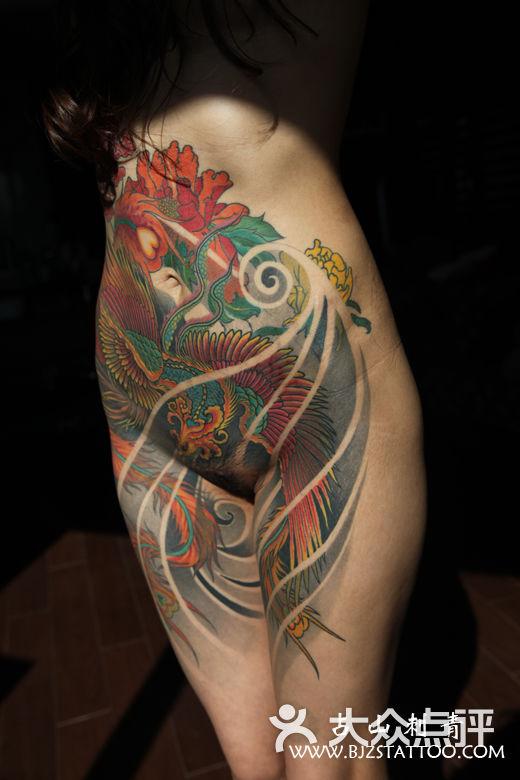 占山刺青北京 占山刺青 星空大麻叶纹身图片-北京纹身