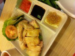 马拉爸爸美食咖喱屋(金光华广场店)的海南鸡饭