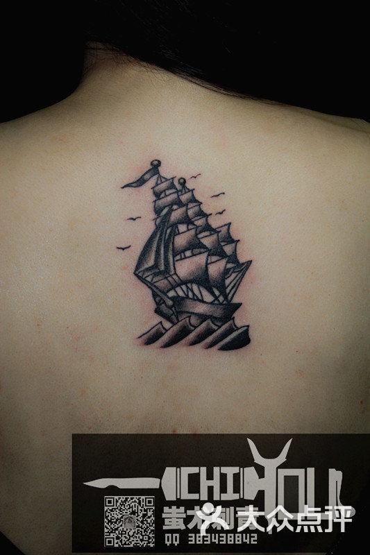 欧美帆船纹身_北京蚩尤刺青图片