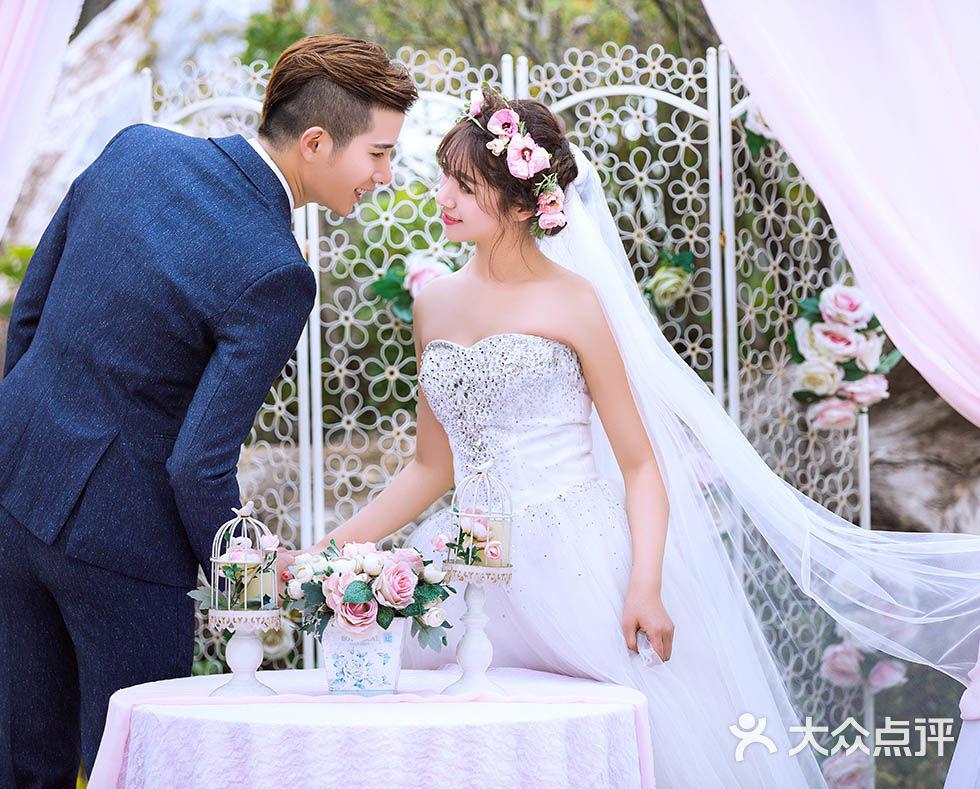 韩式婚纱照-茜茜公主婚纱摄影-厦门结婚-大众点评网