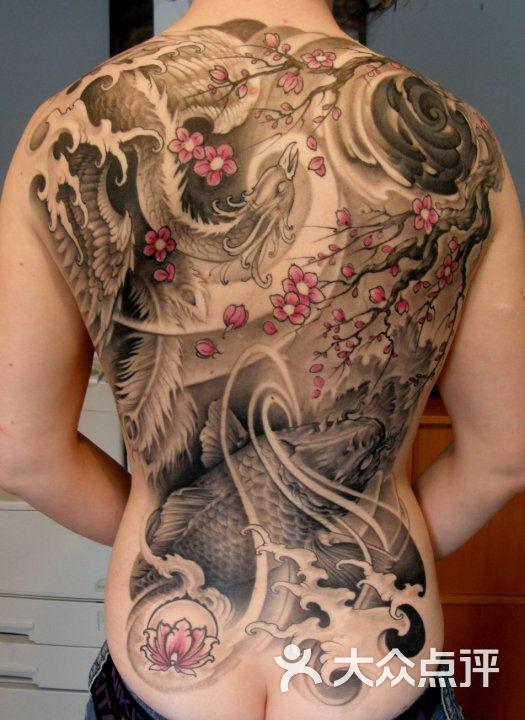 上海火凤凰纹身工作室小丑纹身图案大全图片-北京
