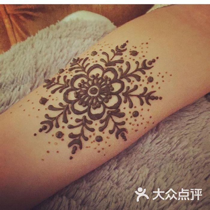 手绘海娜纹身图片 - 第11张