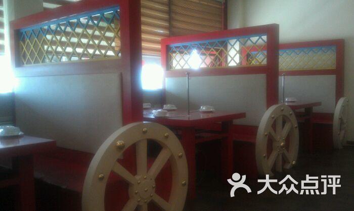 很有蒙古风格的装修