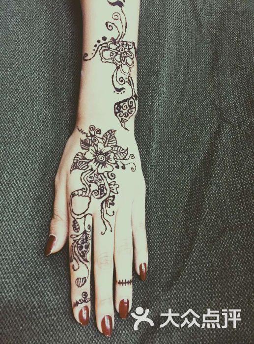 海娜手绘纹身图片 - 第6张