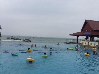 景观泳池三