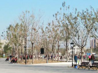 孝妇河湿地公园-停车场