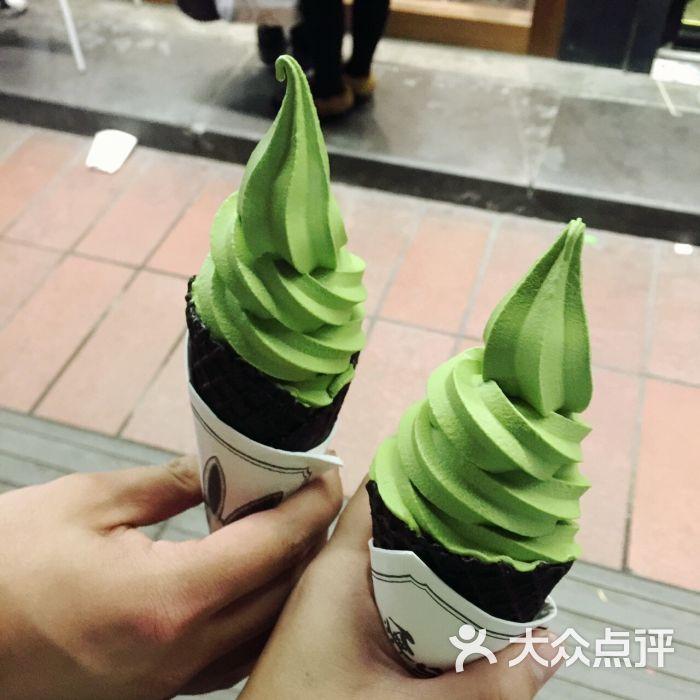 无邪日式图片(天一店)抹茶冰淇淋甜品-第3650张论海报设计中的装饰风格