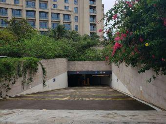 海口香格里拉大酒店停车场