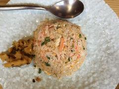 酒乐日本料理的蟹肉炒饭