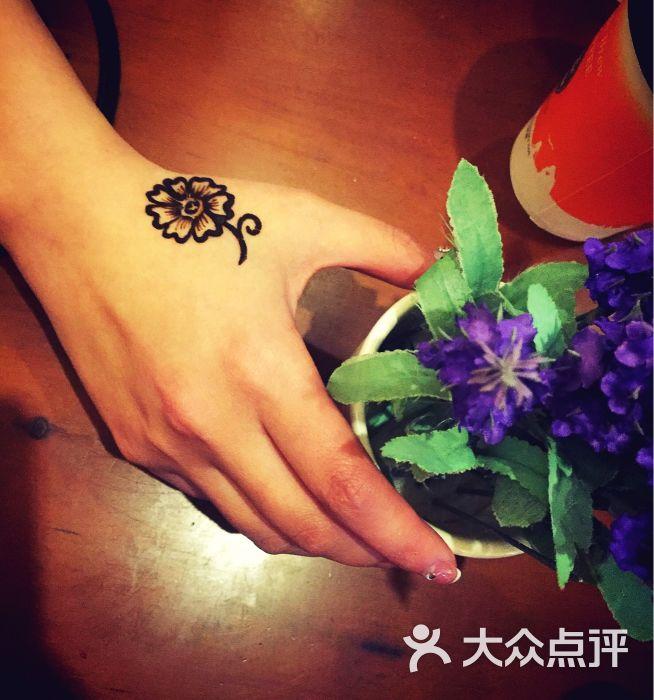 赋美·印度海娜手绘纹身(中贸广场店)-图片-西安丽人