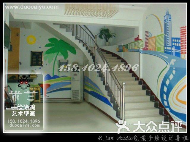 北京彩绘墙画手绘的