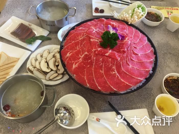 德天火锅菜品图片(王府豆角店)-海鲜肥牛蒸大街下图片