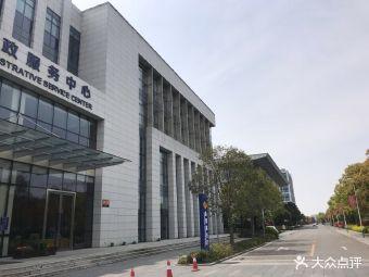 崇明区行政服务中心停车场