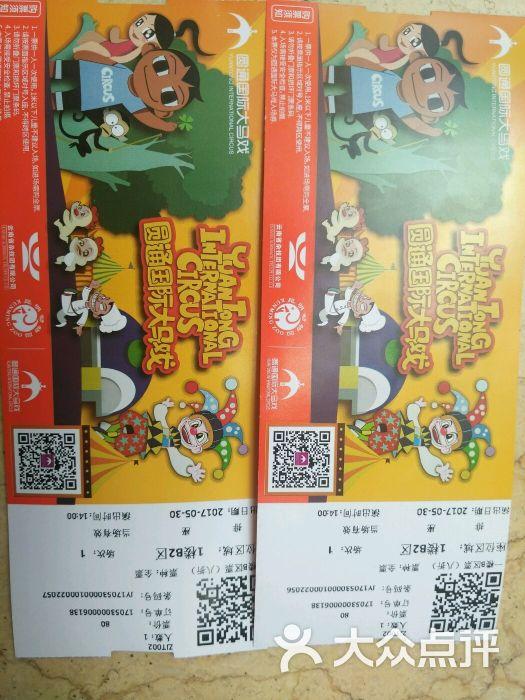 圆通国际大马戏-门票图片-昆明周边游-大众点评网