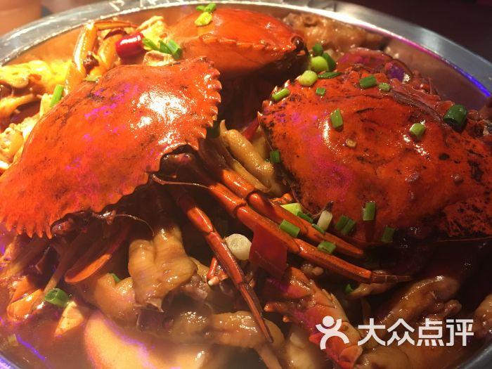 胖哥俩肉蟹煲(巴黎春天店)招牌肉蟹煲图片 - 第3741张