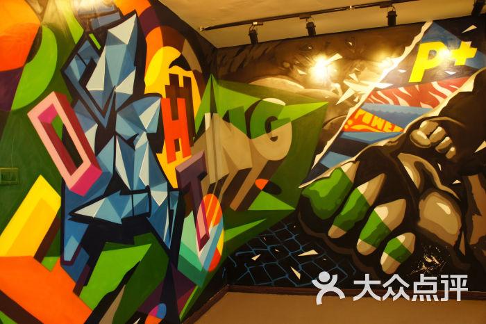 p 私教工作室-涂鸦墙图片-武汉运动健身-大众点评网