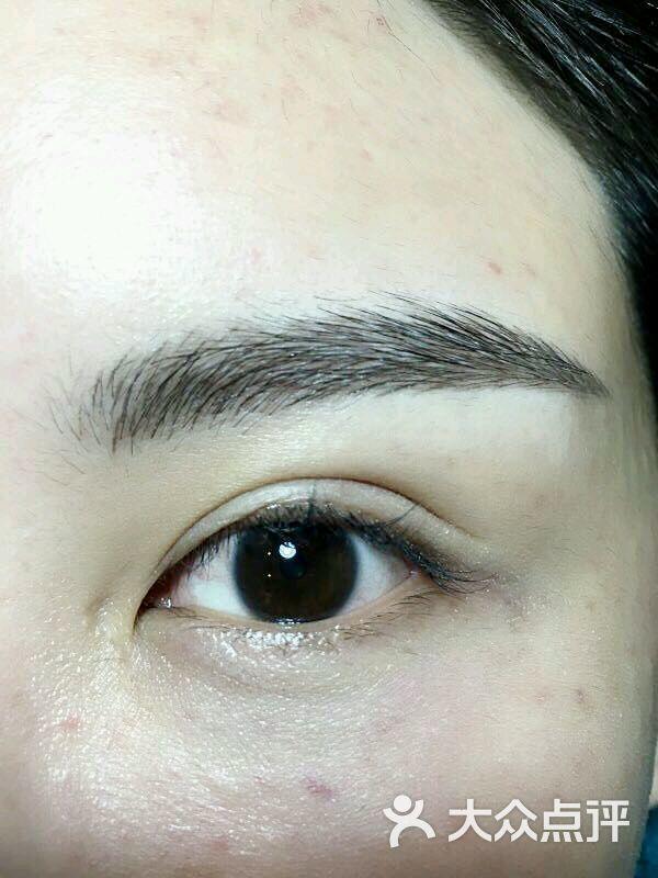 素颜秀!韩式定妆半永久纹绣纹眉(上海广场店)-图片