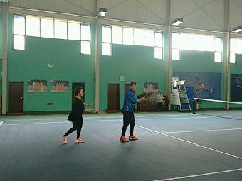 琥珀山庄网球场