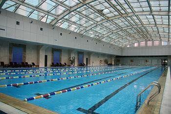 丽华大酒店室内温泉泳池