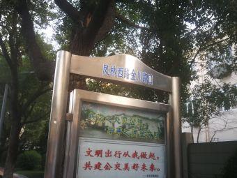 凤林西路金川路口公交车站