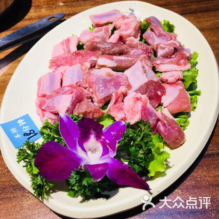 宴羊庭·鲜羊肉火锅(南环店)-带骨羊排-菜-带骨羊排