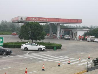郑州南服务区-停车场