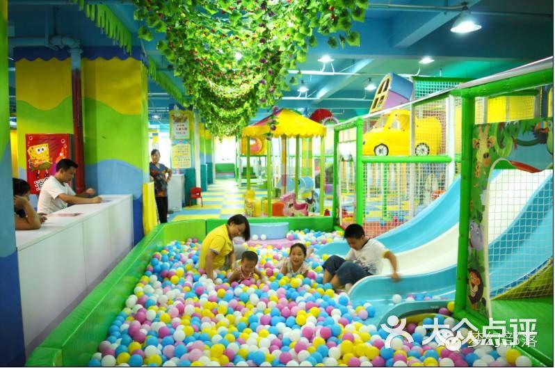 梦幻部落室内游乐园-儿童乐园图片-通城县周边游-大众