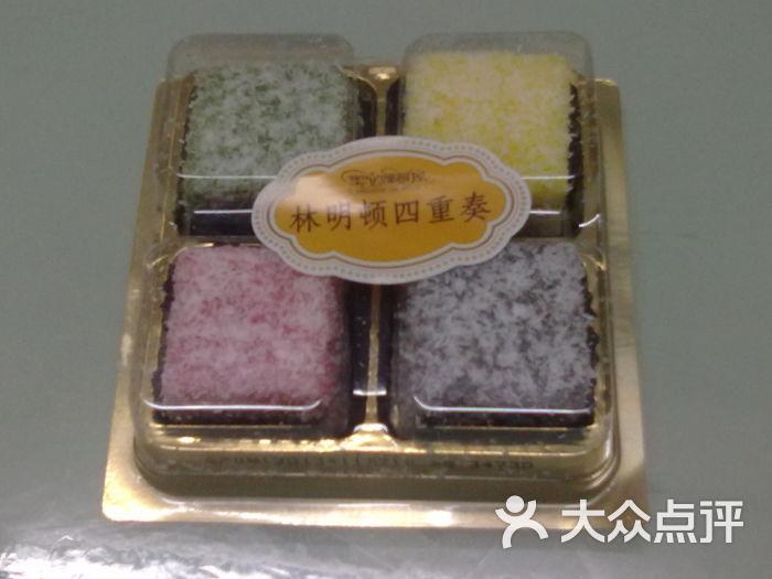 林明顿四色蛋糕-ok便利店图片
