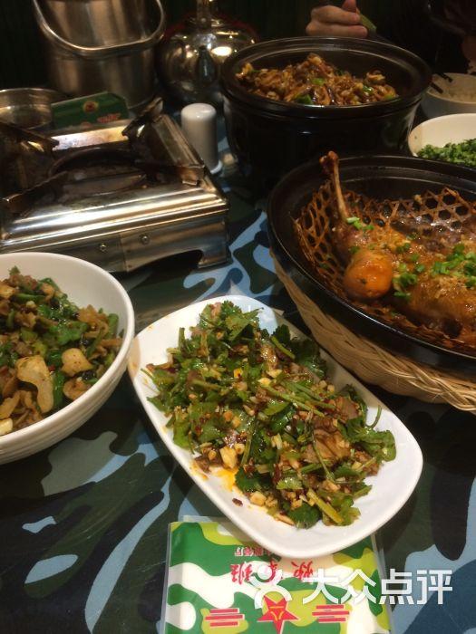 炊事班美食餐厅军旅(步行街店)-主题-岳阳美食异世_文的图片图片