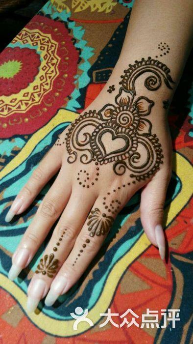 赋美·印度海娜手绘纹身(钟楼骡马市店)图片 - 第8张