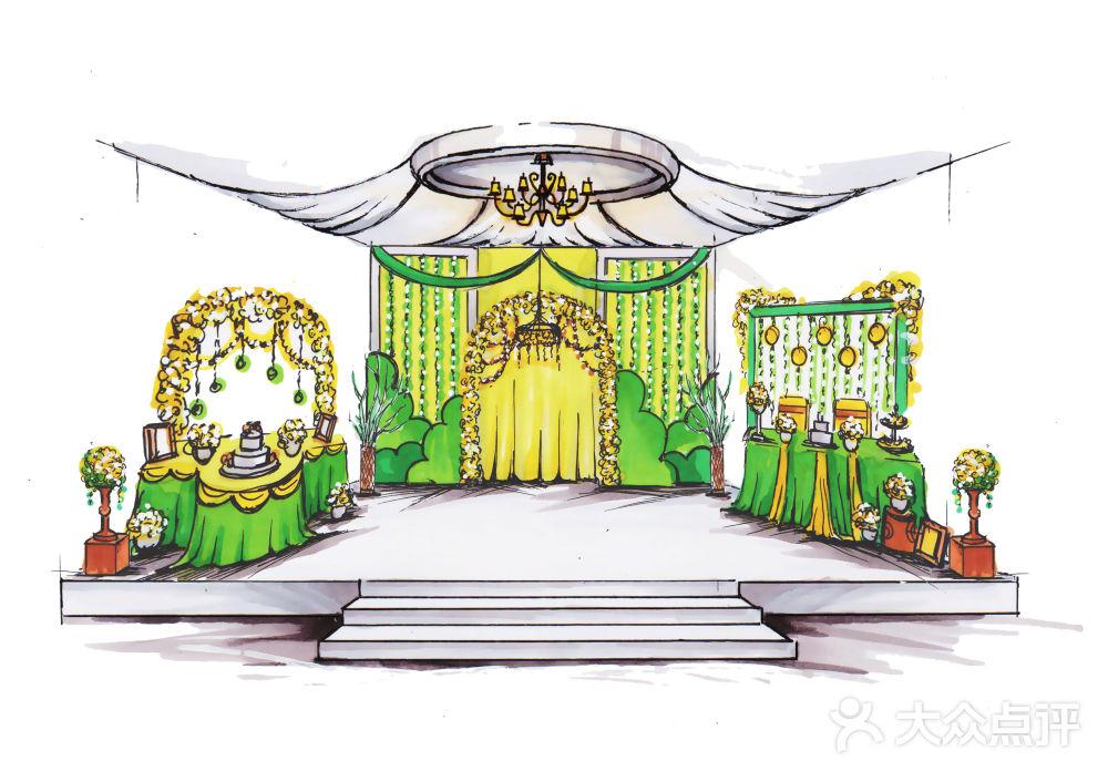 【婚礼设计手绘图-结婚套餐】-dreamwedding创意婚礼