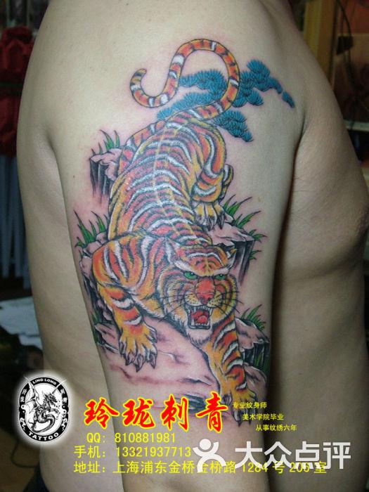 玲珑刺青下山虎广告-上海玲珑刺青纹身工作室的图片