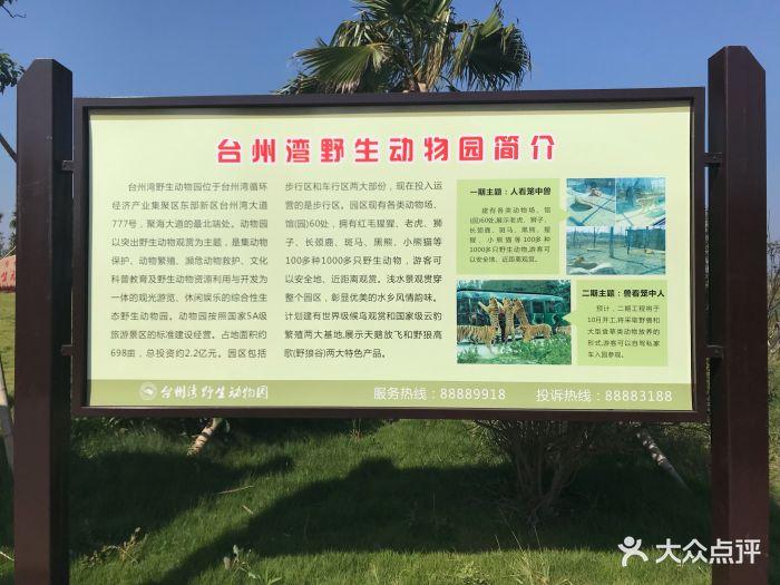 台州湾野生动物园图片 - 第21张