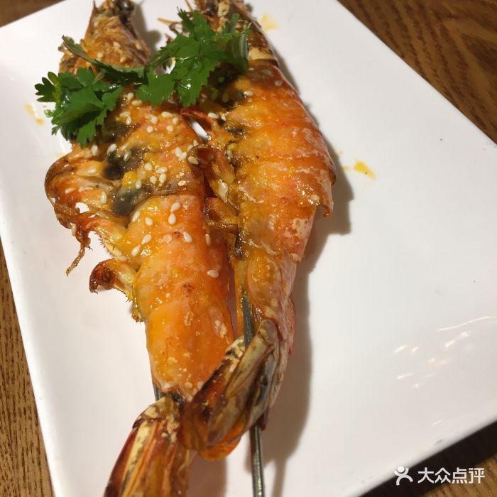 船歌鱼水饺(万象城店)-烤大虾图片-青岛美食-大众点评