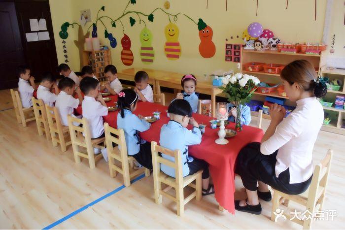 圣和贤国学幼儿园加餐课,在学礼仪孝悌.图片 - 第30张