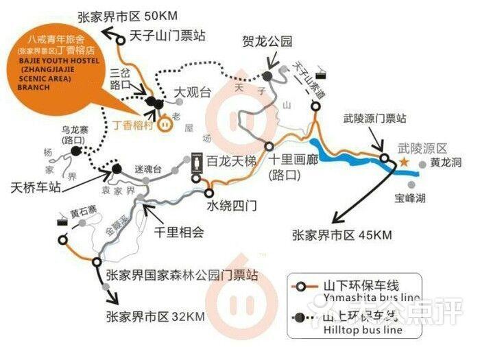张家界核心景区武陵源(张家界国家森林公园)的点评