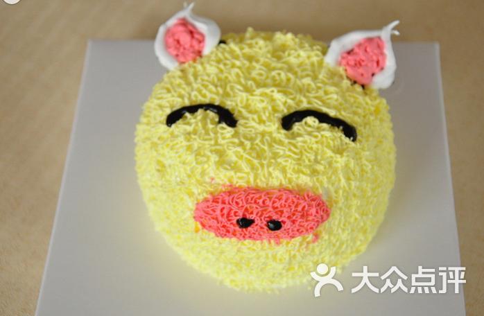 米拉米拉蛋糕迷你猪头图片 - 第1张