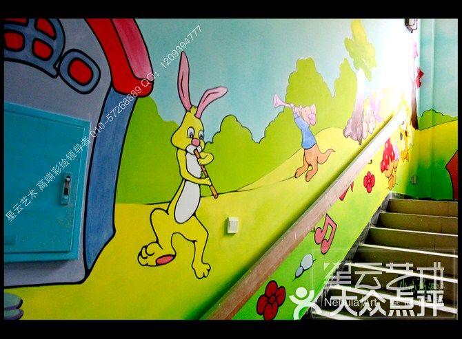 星云墙绘(朝阳店)幼儿园手绘墙 幼儿园壁画 幼儿园墙画图片 - 第1598