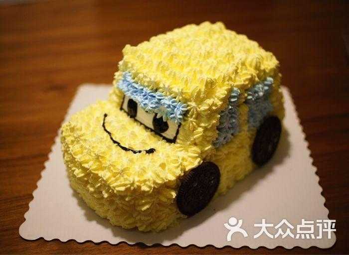 fish私家烘焙小汽车蛋糕图片 - 第12张