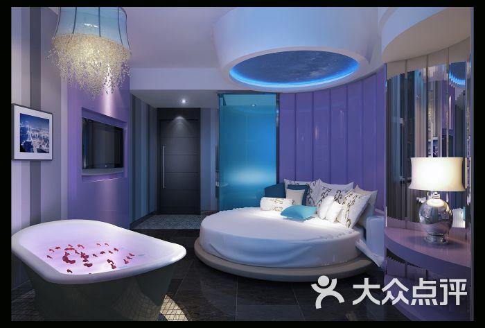 亿尚3d梦幻主题酒店情侣圆床房图片 - 第112张