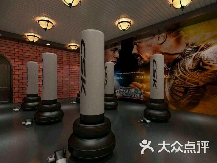 美式加州铁馆健身房-图片-北京运动健身