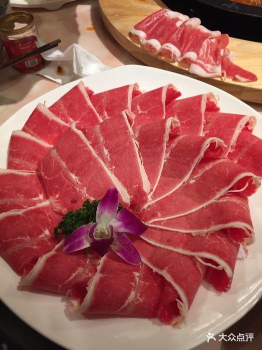 小龙坎大龙(新街口店)图片雪花里脊-第1张烤肠肥牛夹馍图片