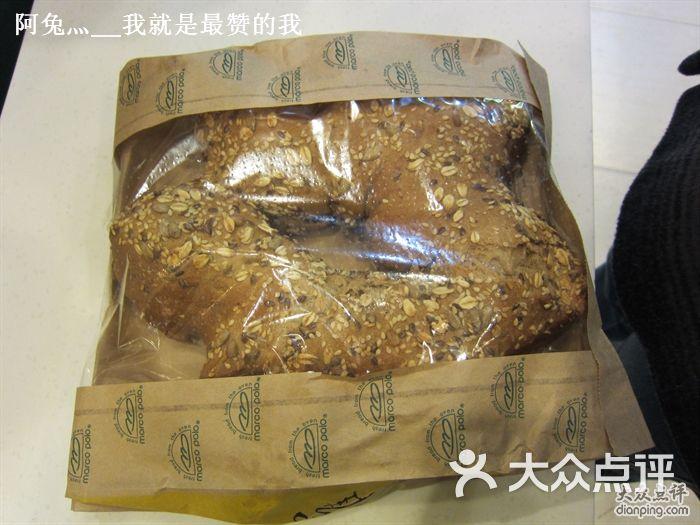 马哥孛罗(淮海巴黎春天店)全麦粗粮面包图片 - 第1张