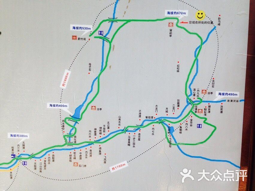 北九水风景区-图片-青岛景点-大众点评网