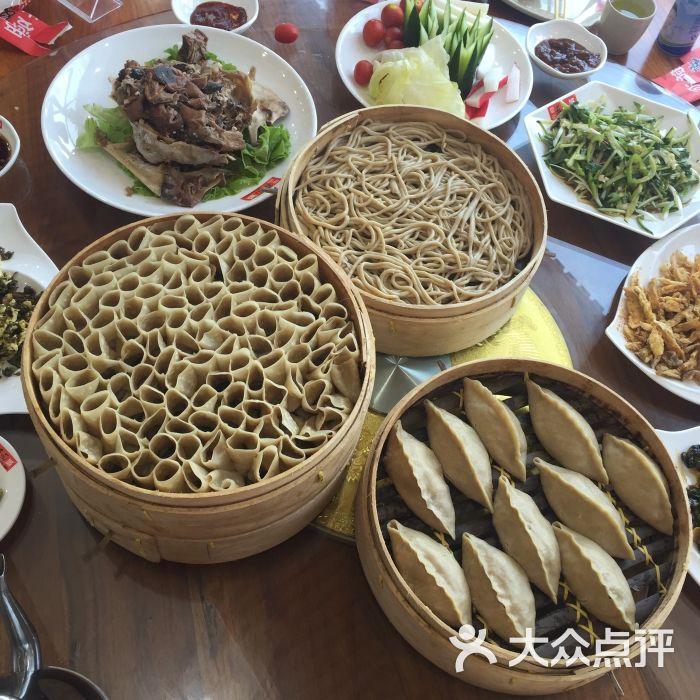 爱尚莜面城-a素菜的素菜的美食-张北县相册美食兔子图片