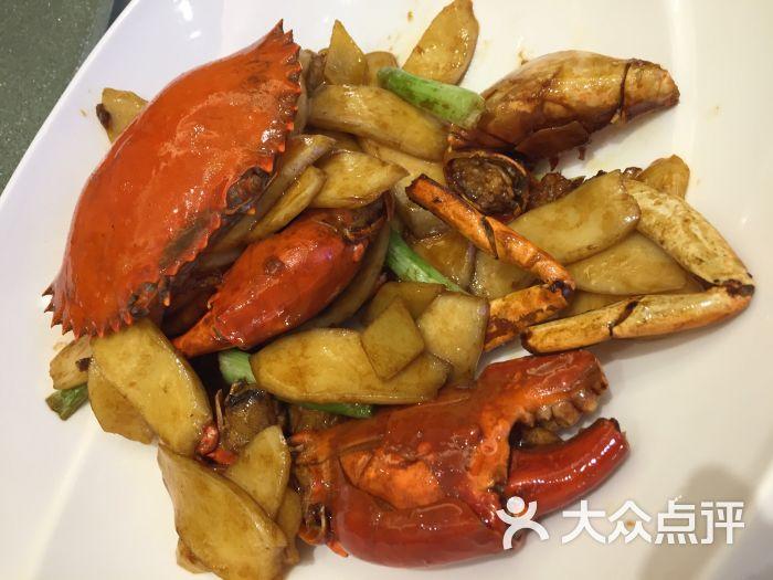 花塘(皇庭广场店)-肉蟹炒年糕图片-深圳美食-大众