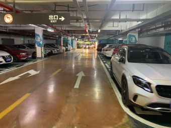 黄岩吾悦广场-地下停车场